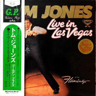 TOM JONES / LIVE IN LAS VEGAS [LP]