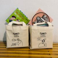 PEANUTS RECORDS × BANKURUWASE / 17TH ANNIVERSARY 7 INCH TOTE  BOY [BAG]