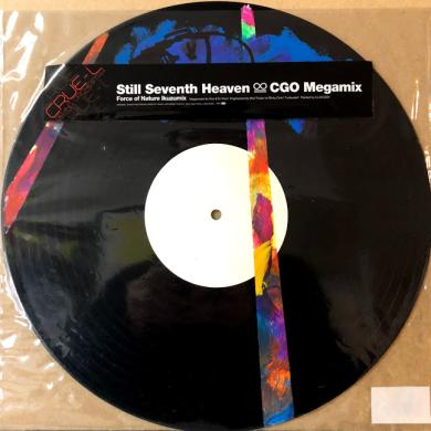 "CRUE-L GRAND ORCHESTRA / STILL SEVENTH HEAVEN CGO MEGAMIX [12""]"