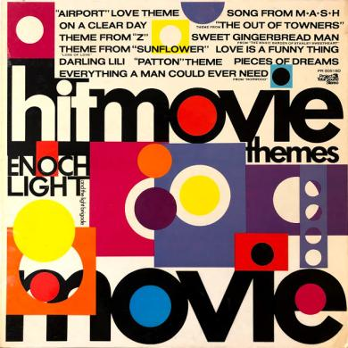 ENOCH LIGHT AND THE LIGHT & THE LIGHT BRIGADE / HIT MOVIE THEMES [LP]