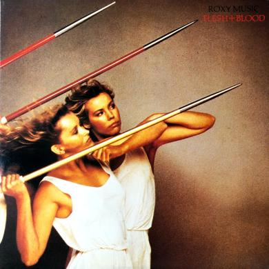 ROXY MUSIC / FLESH + BLOOD [LP]