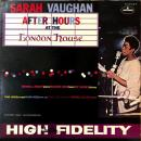 SARAH VAUGHAN / AFTER HOURS AT THE LONDON HOUSE [LP]