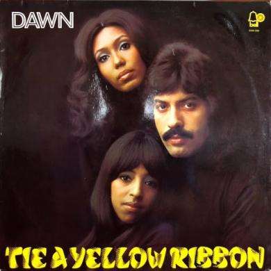 DAWN / TIE A YELLOW RIBBON [LP]
