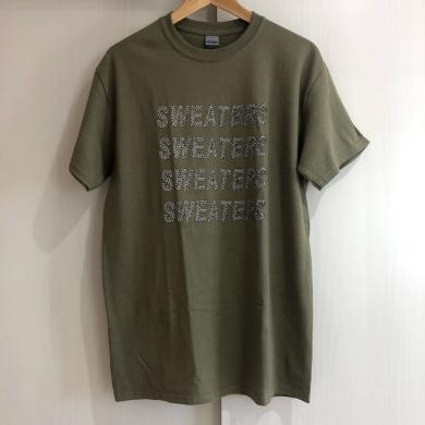 SWEATERS / SQUARE LOGO T SHIRT [M]
