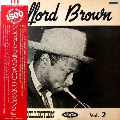 CLIFFORD BROWN / PARIS COLLECTION Vol.2 [LP]